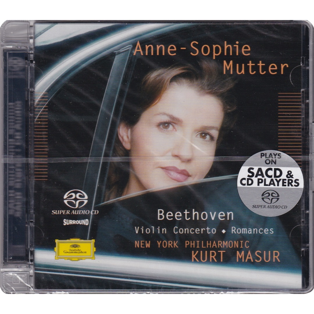 Anne-Sophie Mutter / Beethoven Violin Concerto. Romances [Hybrid Multichannel / Stereo SACD-DSD] в интернет магазине CD Good