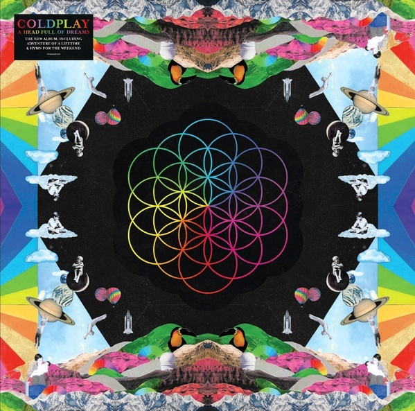 Coldplay / A Head Full Of Dreams (Limited Edition, LP1 Neon Pink Translucent, LP2 Blue Translucent) [2 X LP] в интернет магазине CD Good