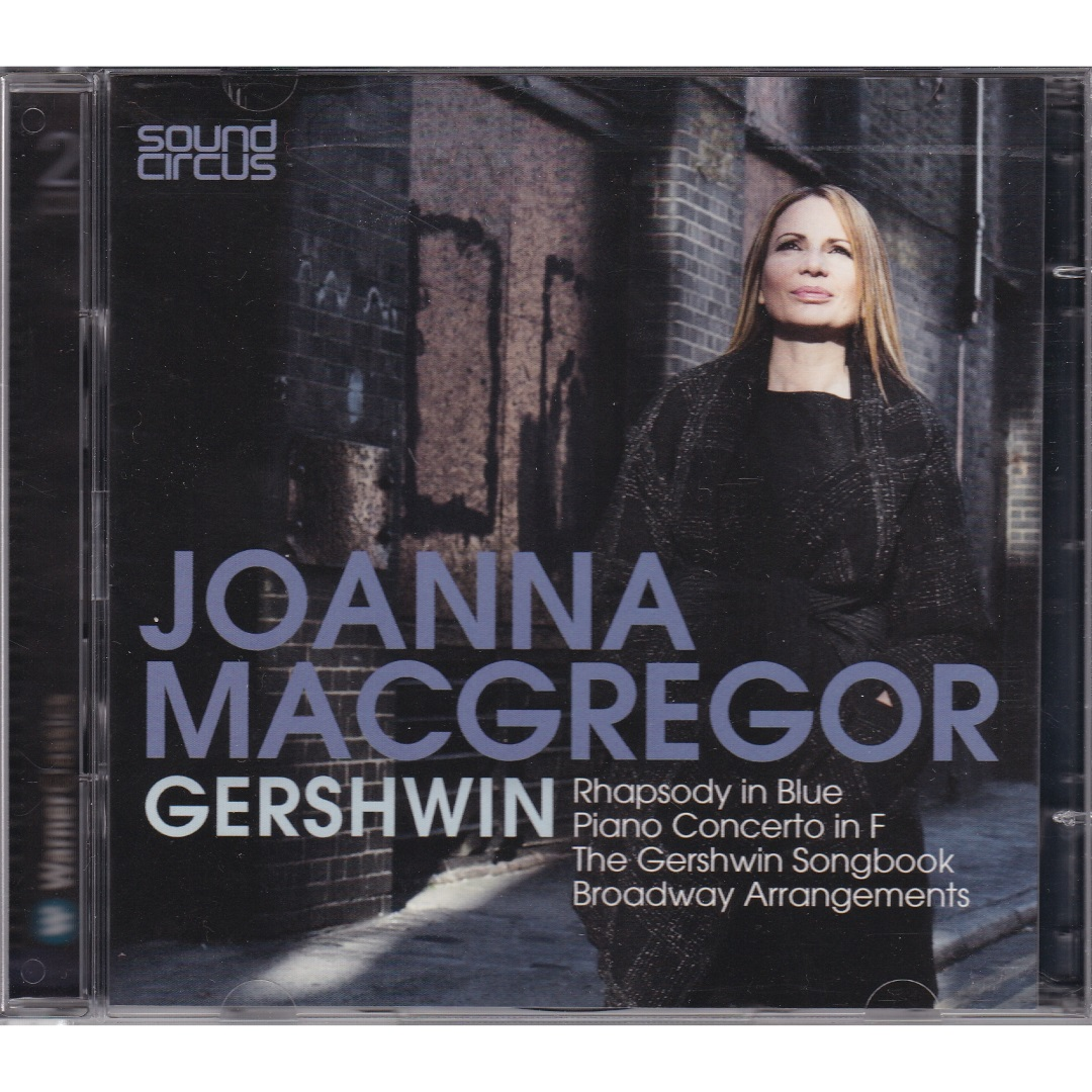 Joanna MacGregor / Rhapsody In Blue, Piano Concerto in F [2 X CD-Audio] в интернет магазине CD Good