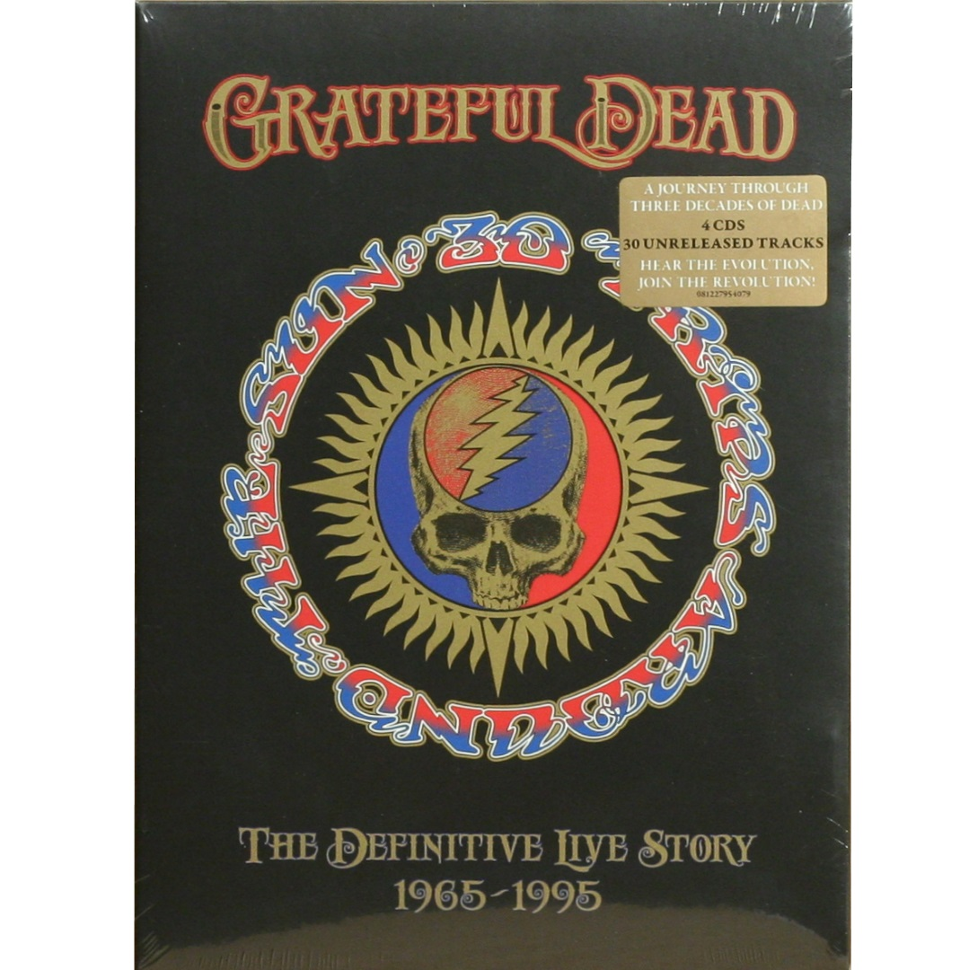 Grateful Dead / 30 Trips Around The Sun: The Definitive Live Story: 1965-1995 (4 HDCD Deluxe edition) [BOX SET] в интернет магазине CD Good