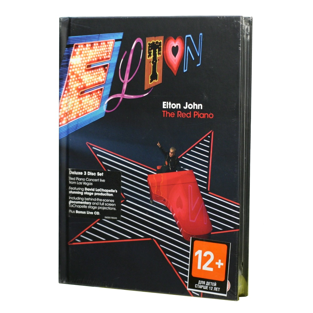 Elton John / The Red Piano Concert (Deluxe edition CD / 2 X DVD-Video) [BOX SET] в интернет магазине CD Good