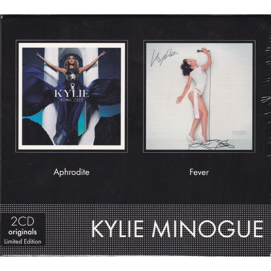 Kylie Minogue  / Fever, Aphrodite (Deluxe Edition, Limited Edition) [2 X CD-Audio] в интернет магазине CD Good