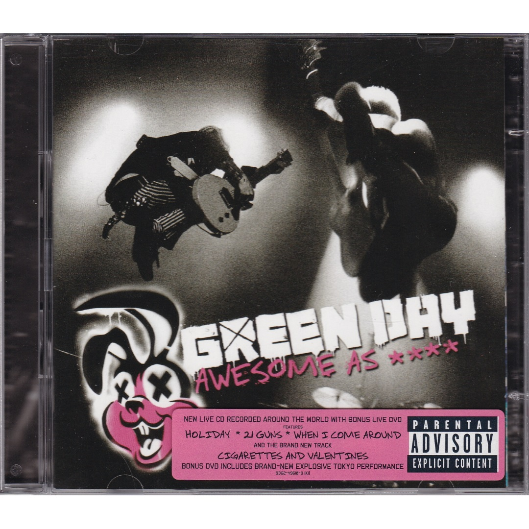 Green Day / Awesome as **** (Deluxe Edition) [CD-Audio, DVD-Video] в интернет магазине CD Good