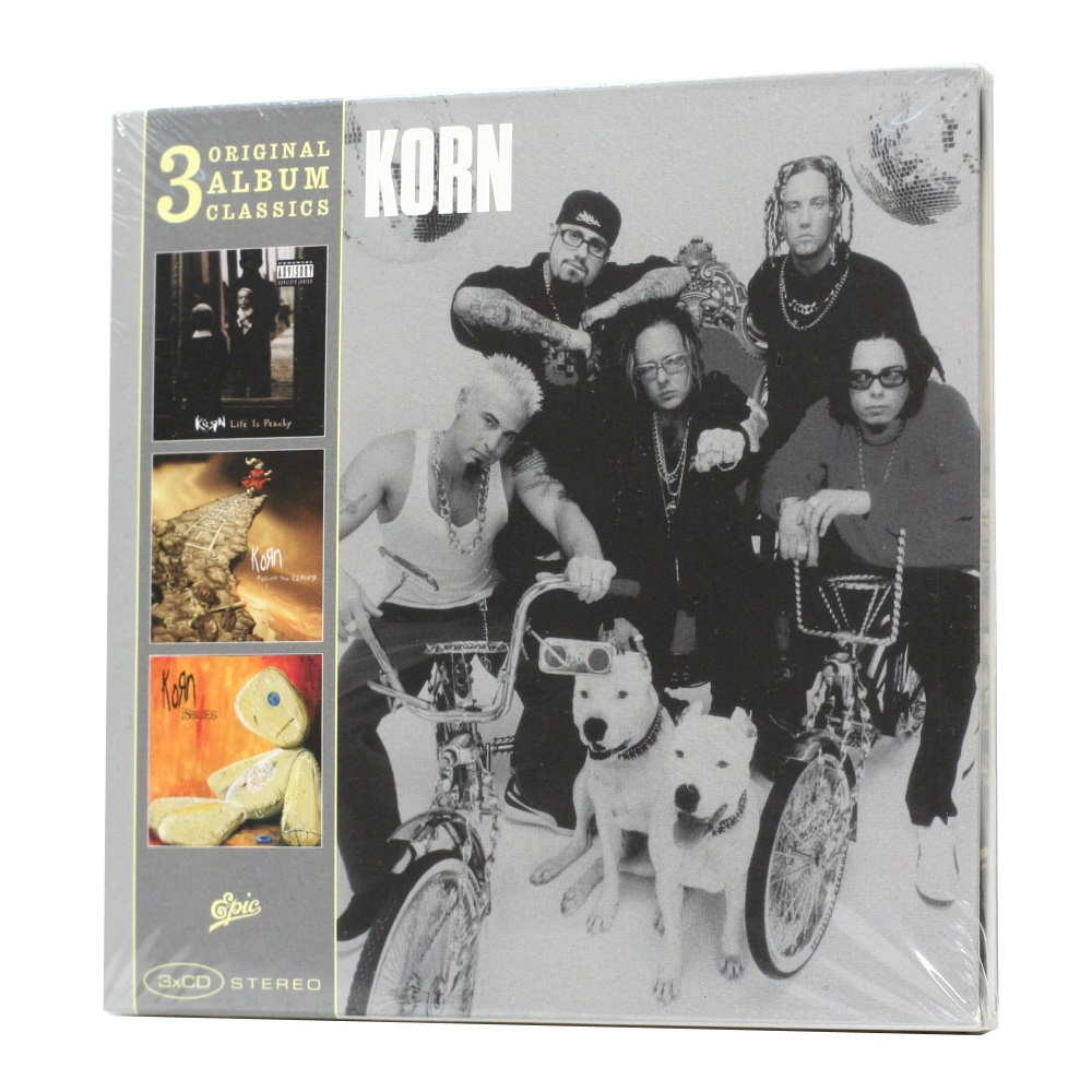 Korn / 3 Original Album Classics (Deluxe Edition, Compilation) [3 X CD-Audio] в интернет магазине CD Good