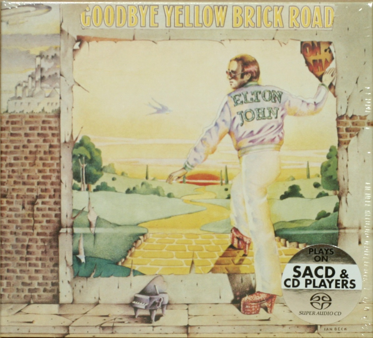 Elton John / Goodbye Yellow Brick Road (Remastered, Deluxe Edition) [Hybrid Multichannel / Stereo 2 X SACD + DVD] в интернет магазине CD Good