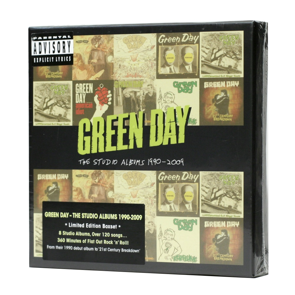 Green Day / The Studio Albums 1990 - 2009 (Deluxe Edition, Limited Edition, Compilation, 8 X CD-Audio) [BOX SET] в интернет магазине CD Good