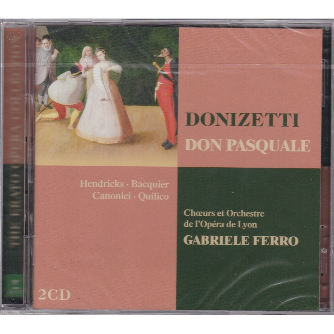 "Gabriele Ferro / Donizetti ""Don Pasquale"" [2 X CD-Audio] в интернет магазине CD Good"