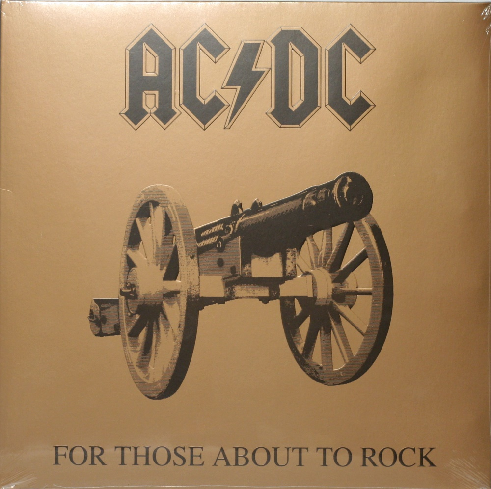 AC/DC / For Those About to Rock (We Salute You) [LP] в интернет магазине CD Good