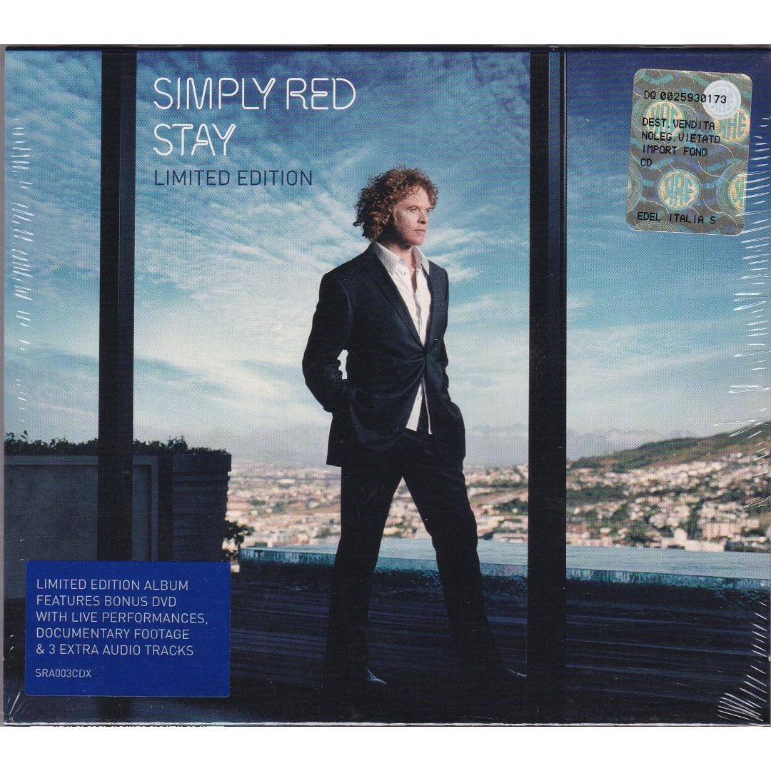 Simply Red / Stay (Deluxe Edition, Limited Edition) [CD-Audio, DVD-Video] в интернет магазине CD Good