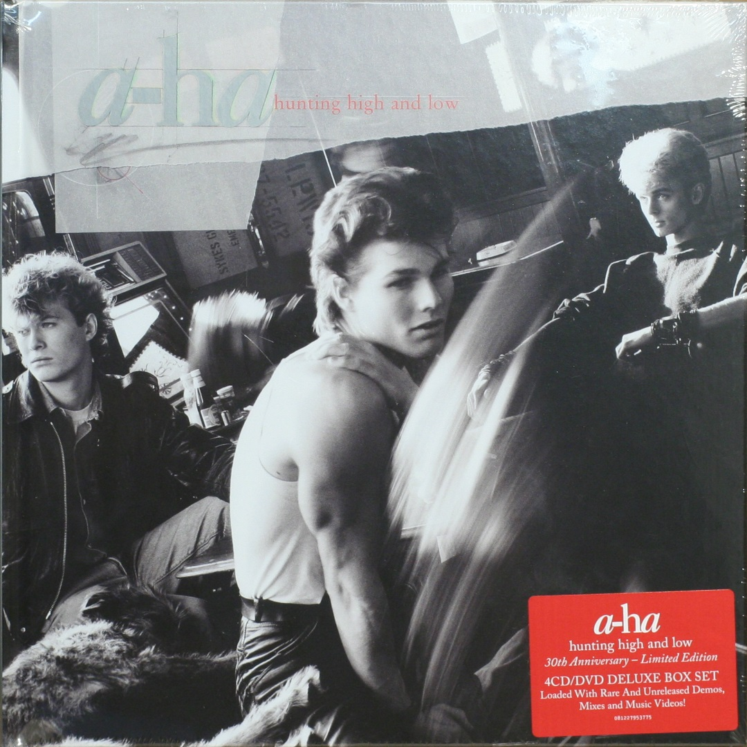 A-HA / Hunting High & Low (30th Anniversary Super Deluxe 4CD/DVD) [BOX SET] в интернет магазине CD Good